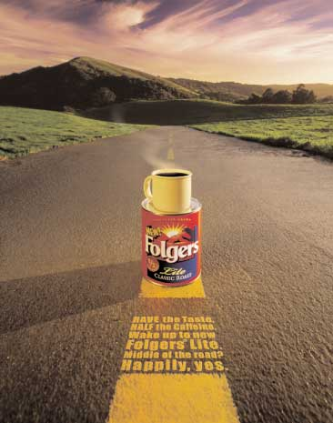 Folgers Lite middle of the road