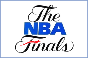 Brand identity for The NBA Finals
