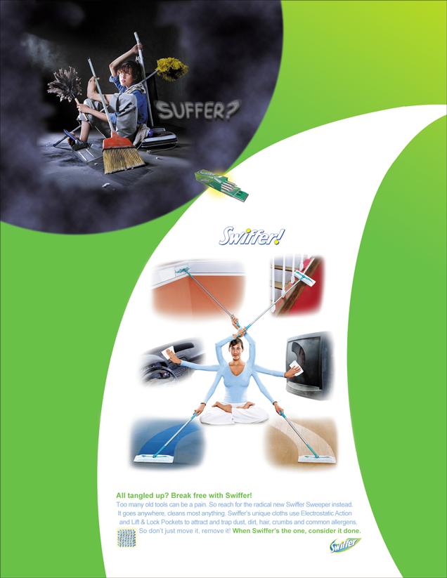 Swiffer - Contortionist